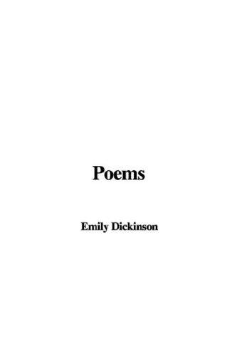 Poems (1421986426) by Dickinson, Emily