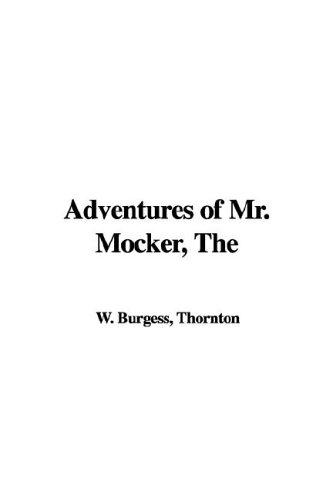 9781421988153: Adventures of Mr. Mocker