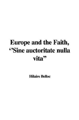 9781421990187: Europe and the Faith,