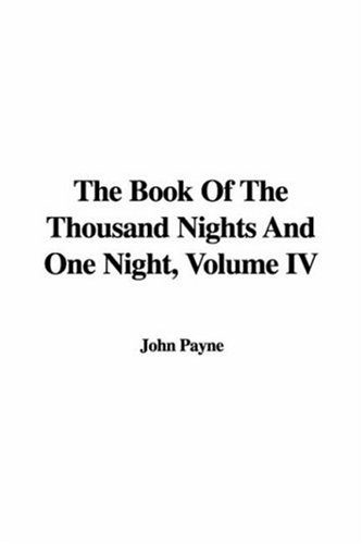 9781421995335: The Book of the Thousand Nights and One Night, Volume IV: 4