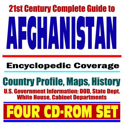 9781422003992: 21st Century Complete Guide to Afghanistan - Encyclopedic Coverage, Country Profile, History, War on Terror, Taliban, al-Qaeda (Al-Qaida), Bagram Airfield, Kabul, Khost, Karzai (Four CD-ROM Set)