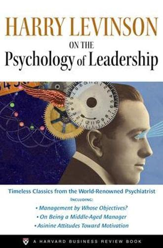 9781422102053: Harry Levinson on the Psychology of Leadership: A Harvard Business Review Book (Harvard Business Review Facebook)