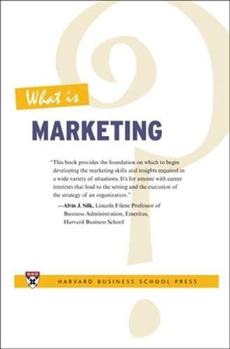 9781422104606: What Is Marketing? - AbeBooks - Harvard
