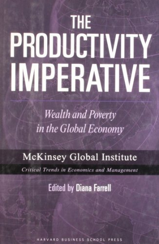9781422110263: The Productivity Imperative: Wealth And Poverty in the Global Economy (Mckinsey Global Institute)