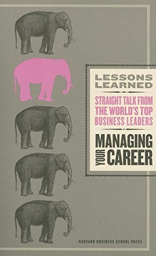 9781422118610: Managing Your Career (Lessons Learned)