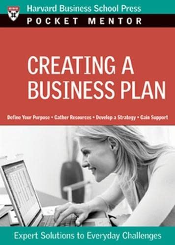 9781422118856: Creating a Business Plan (Pocket Mentor)
