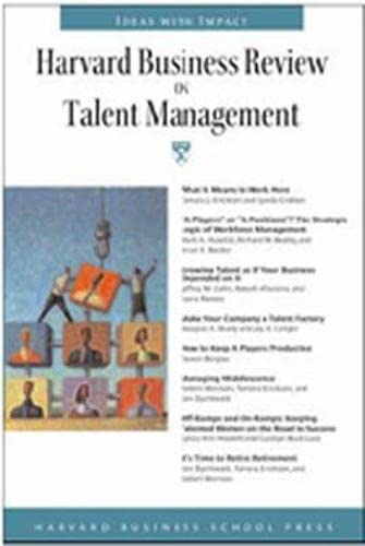 9781422122945: Harvard Business Review on Talent Mgmt (Harvard Business Review Paperback Series)
