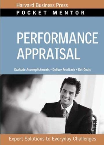 9781422128831: Performance Appraisal: Expert Solutions to Everyday Challenges (Pocket Mentor)