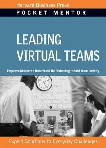 9781422128862: Leading Virtual Teams (Pocket Mentor)
