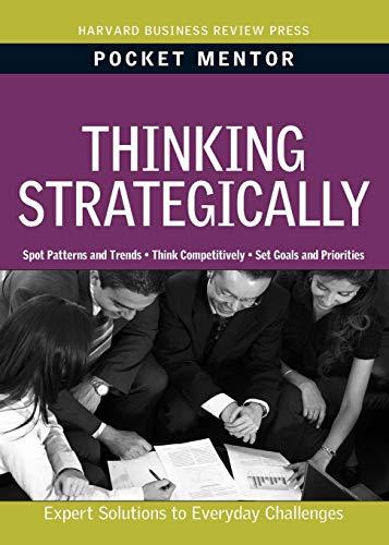 9781422129715: Thinking Strategically (Pocket Mentor)