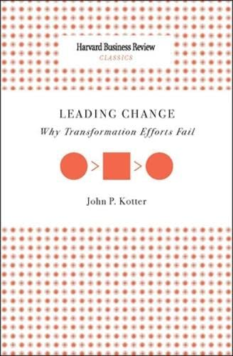 9781422133415: Leading Change: Why Transformation Efforts Fail (Harvard Business Review Classics)