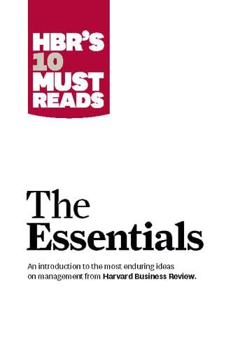 9781422133446: HBR's 10 Must Reads The Essentials