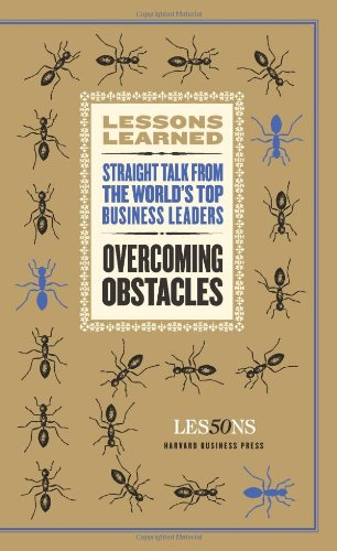 9781422139820: Overcoming Obstacles (Lessons Learned)