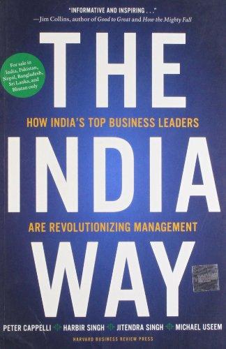9781422143889: Harvard Business Review Press The India Way