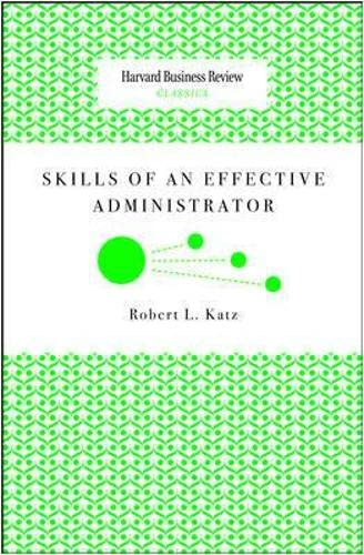 9781422147894: Skills of an Effective Administrator (Harvard Business Review Classics)