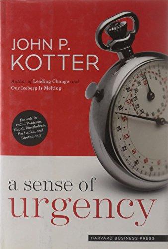 9781422152300: Sense of Urgency