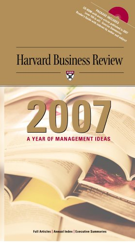 9781422155677: Harvard Business Review 2007: A Year of Management Ideas on CD
