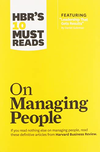 9781422158012: HBR's 10 Must Reads on Managing People