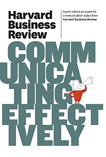 9781422162514: Harvard Business Review on Communicating Effectively (Harvard Business Review (Hbr))