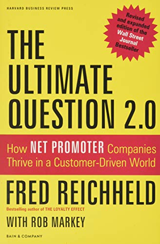 9781422173350: The Ultimate Question 2.0 (Revised and Expanded Edition): How Net Promoter Companies Thrive in a Customer-Driven World