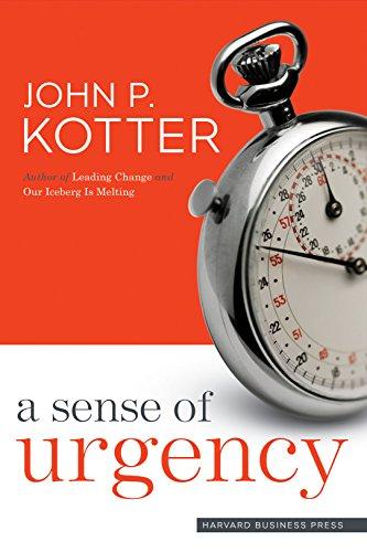9781422179710: A Sense of Urgency