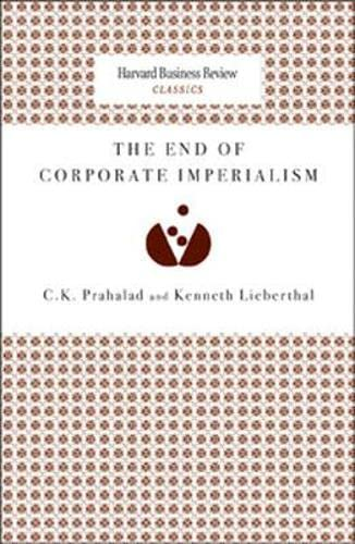 The end of corporate imperialism.