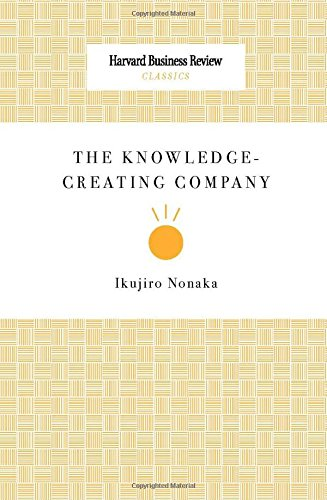 9781422179741: The Knowledge-Creating Company