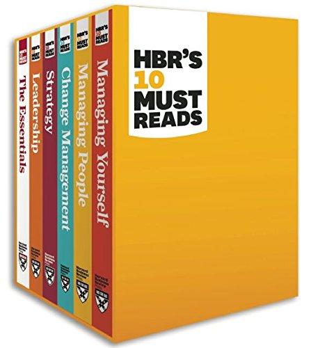 HBR's 10 Must Reads Boxed Set (6 Books) (HBR's 10 Must Reads): Clayton M. Christensen; ...