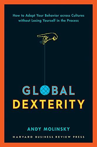 Global Dexterity: Molinsky, Andy