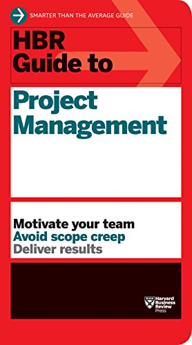 9781422187296: HBR Guide to Project Management