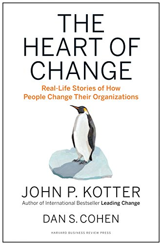 9781422187333: The Heart of Change: Real-Life Stories of How People Change Their Organizations