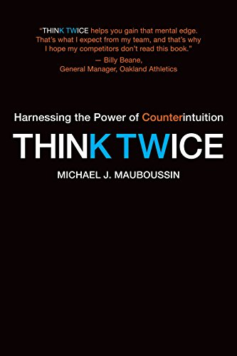 9781422187388: Think Twice: Harnessing the Power of Counterintuition