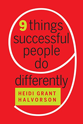 9781422193402: Nine Things Successful People Do Differently
