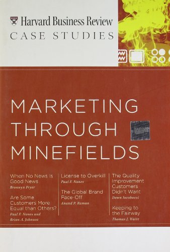 Marketing Through Minefields (Harvard Business Review Case Studies)