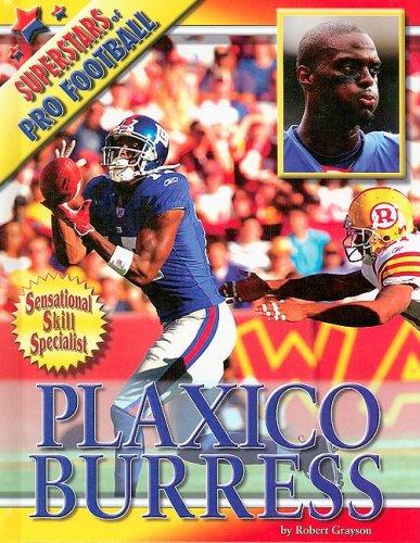 9781422205525: Plaxico Burress (Superstars of Pro Football)