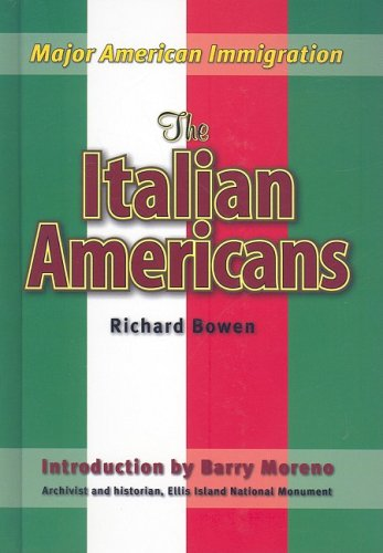 9781422206096: The Italian Americans (Major American Immigration)