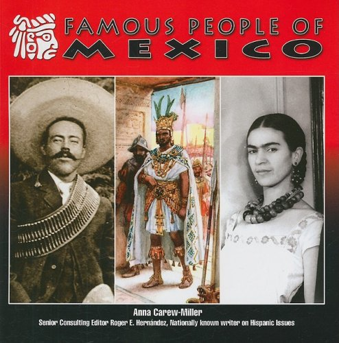 Famous People of Mexico (Mexico: Beautiful Land, Diverse People): Carew-Miller, Anna