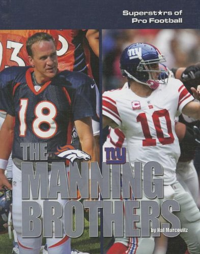 9781422227237: The Manning Brothers (Superstars of Pro Football)