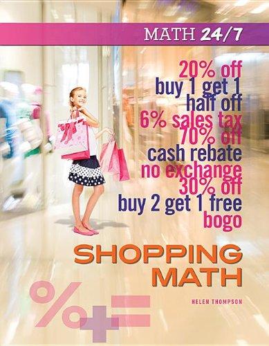 Shopping Math (Math 24/7): Thompson, Helen