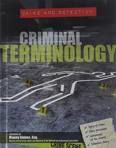 Criminal Terminology (Hardcover): Ellen DuPont