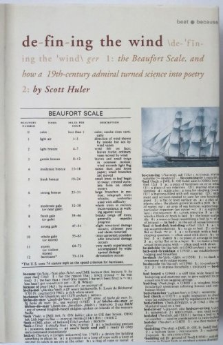 9781422367704: Defining the Wind: The Beaufort Scale, and How a 19th-Century Admiral Turned Science into Poetry