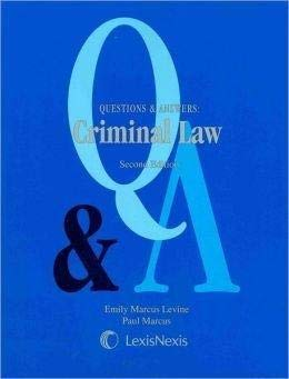 9781422411650: Questions and Answers: Criminal Law