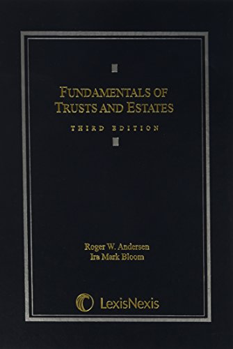 9781422411766: Fundamentals of Trusts and Estates, 3rd Edition