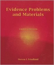 9781422421192: Evidence Problems and Materials