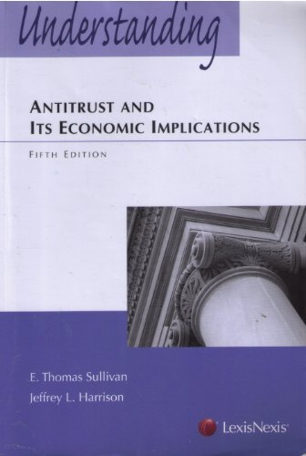9781422422618: Understanding Antitrust and Its Economic Implications