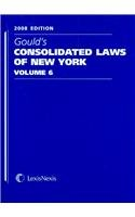 9781422423615: Gould's Consolidated Laws of New York