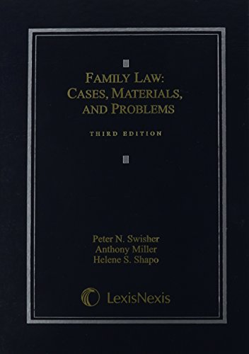 9781422429655: Family Law: Cases, Materials and Problems (2012)