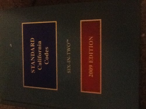 Standard California Codes: 6-In-2, 2009