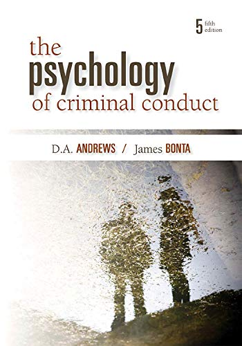 9781422463291: The Psychology of Criminal Conduct