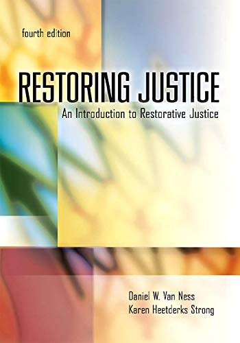 an introduction to the restorative justice Restorative justice is an approach to justice in which the response to a crime is to organize a mediation between the victim(s) and the offender(s.